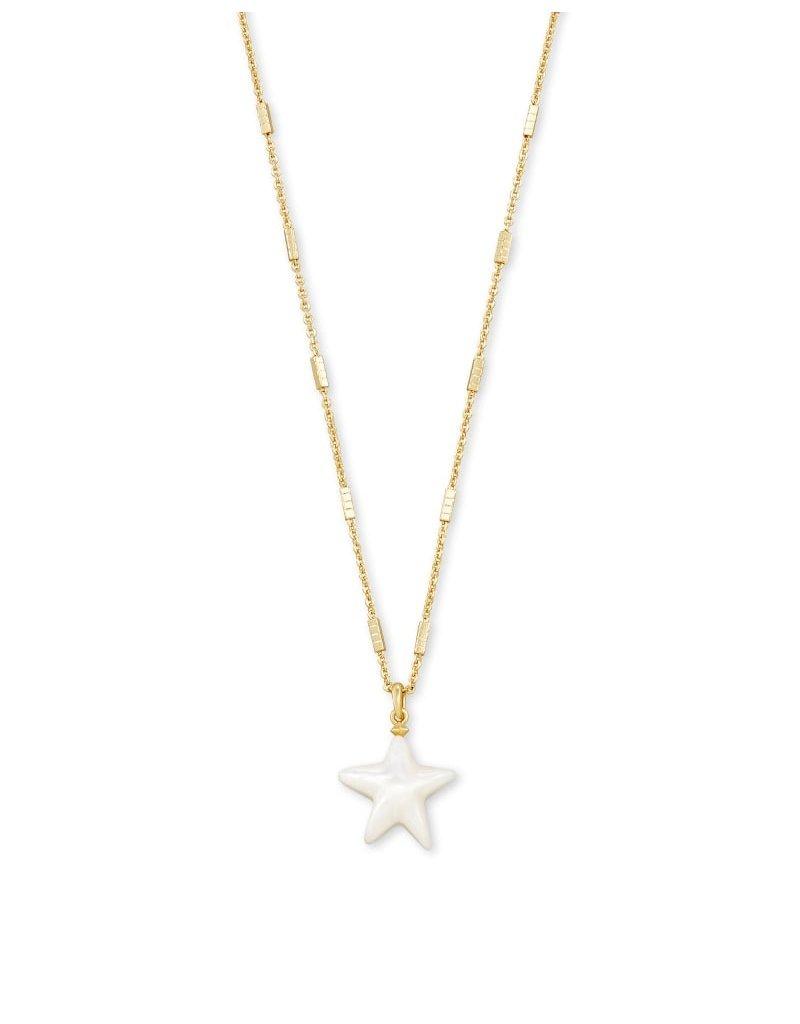 Kendra Scott Carved Jae Star Pendant Necklace