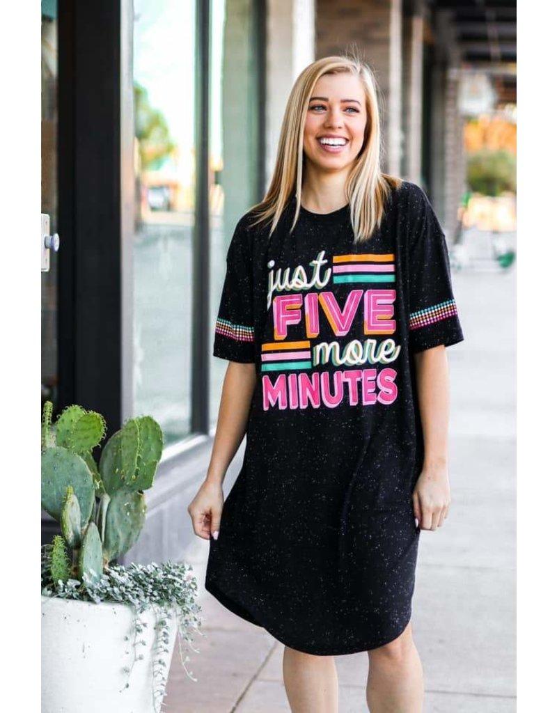 Jadelynn Brooke Just Five More Minutes Sleep Shirt