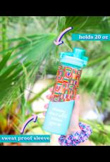Jadelynn Brooke Glass Water Bottle