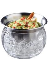 Prodyne Iced Dip Stainless Steel & Acrylic Dip Cup