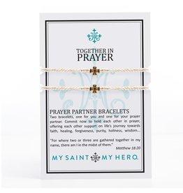 My Saint, My Hero Prayer Partner Bracelets