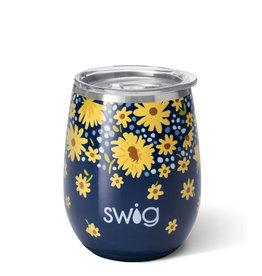 Swig Swig 14oz Stemless Wine - Lazy Daisy