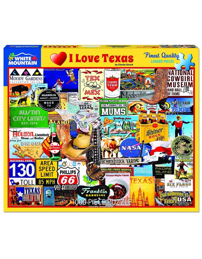 White Mountain Puzzles 1000 Piece Puzzle