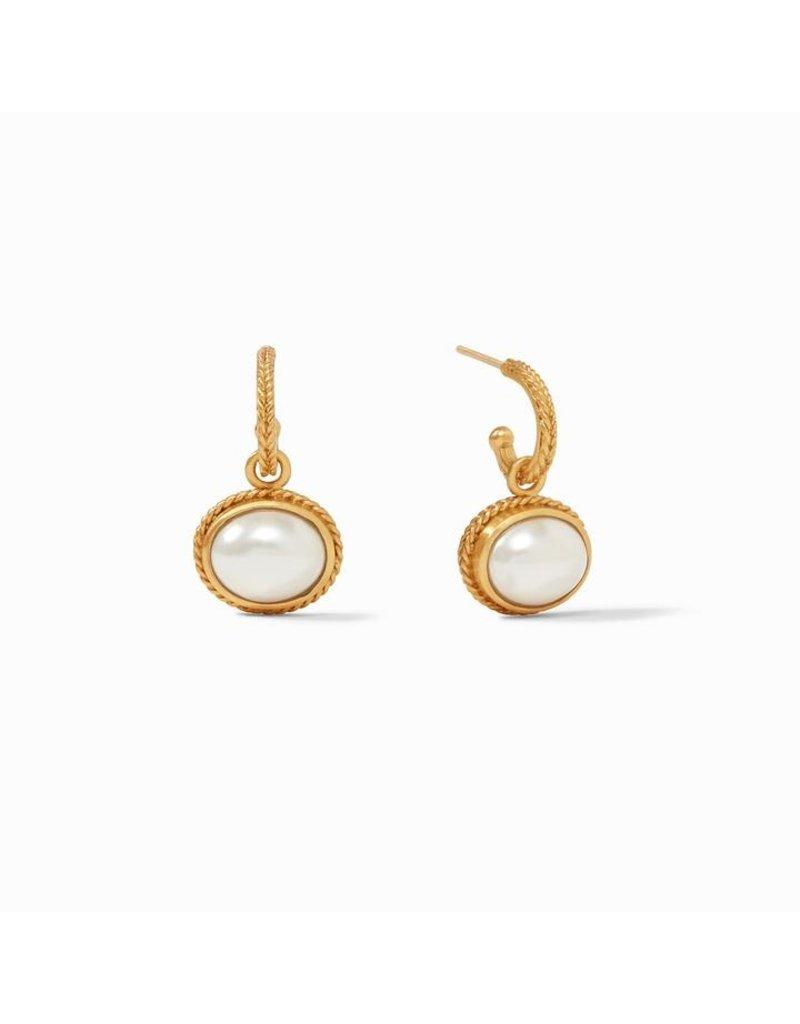 Julie Vos Calypso Hoop & Charm Earring