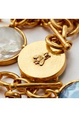 Julie Vos Honey Bee Statement Necklace - Reversible