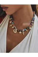 Kendra Scott Beaded Shiva Charm Necklace