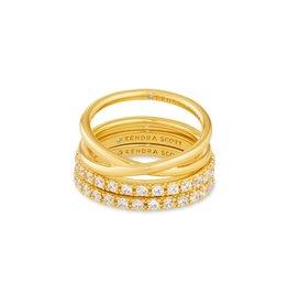Kendra Scott Livy Ring Set of 3
