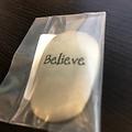 Believe Thumb Stone