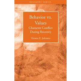 Behavior Vs. Values Pamphlet