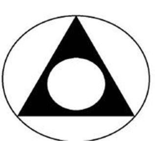 Sticker, Al-Anon Large Black/White
