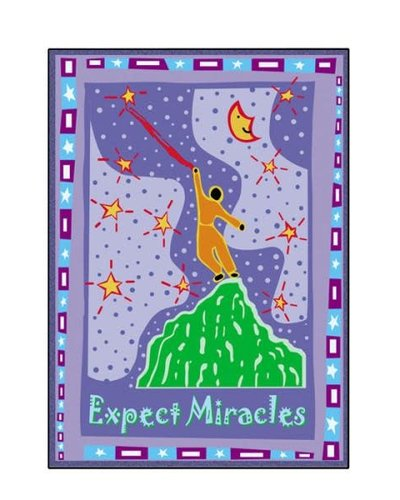 Expect Miracles Greeting Card