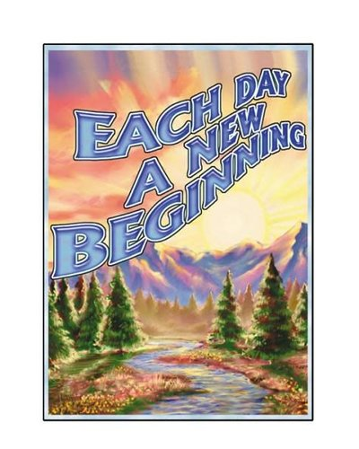 Each Day New Beginning Greeting Card