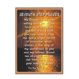 Seventh Step Prayer (Sun) Greeting Card