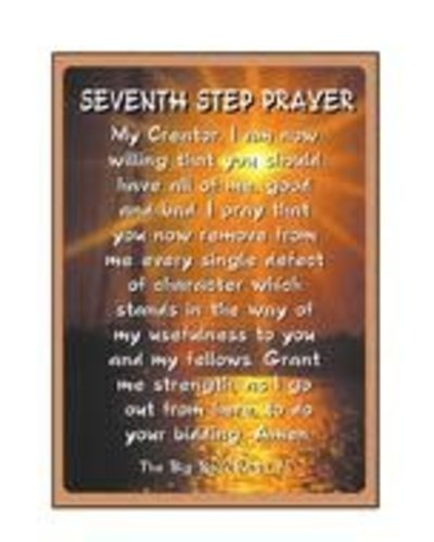 Seventh Step Prayer (Sun) Greeting Card
