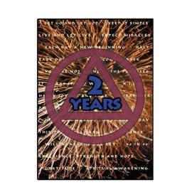 2 Year AA Greeting Card