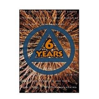 6 Year AA Greeting Card