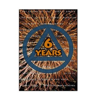 6 Years AA Greeting Card