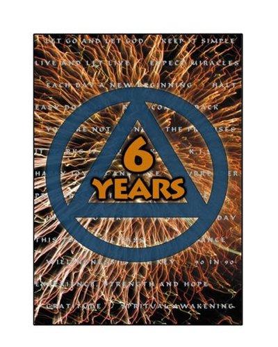 AA Logo- 6 Years Greeting Card