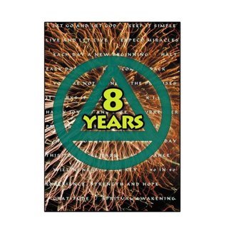 8 Years AA Greeting Card