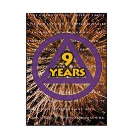 9 Year AA Greeting Card
