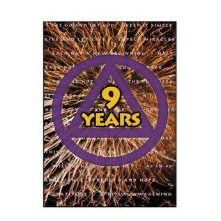 9 Year AA Greeting Card