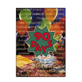 90 Days Greeting Card