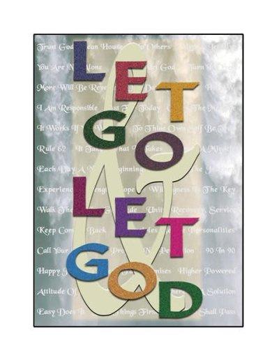 Let Go & Let God Greeting Card