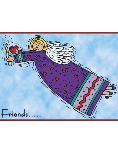 Angel Friends Greeting Card