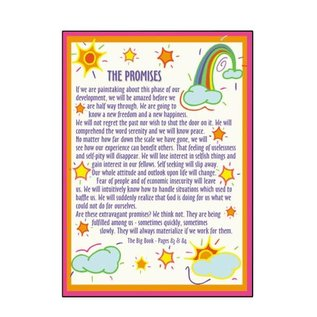 Promises (Rainbows) Greeting Card