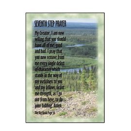 Seventh Step Prayer (Nature) Greeting Card