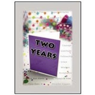 Two Years Greeting Card