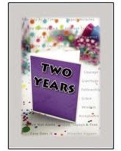 Time to Celebrate 2 Years Greeting Card