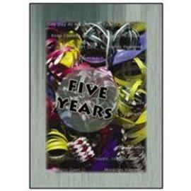 Five Years Greeting Card