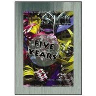 Five Year Greeting Card