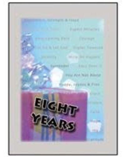 Time to Celebrate 8 Years Greeting Card
