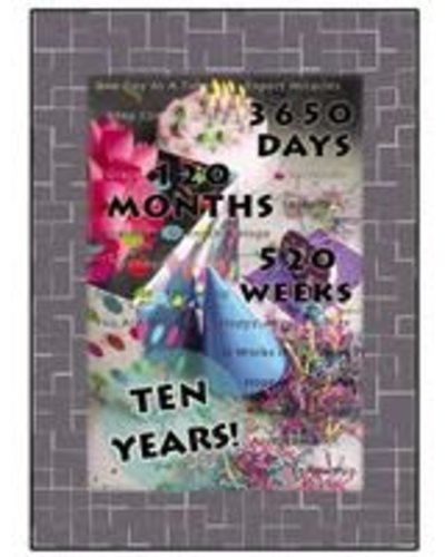 Ten Year Greeting Card