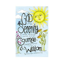 Serenity Prayer (Sun) Greeting Card