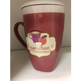 Inspiration Is Brewing Latte Mug