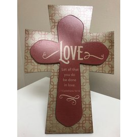 Love Layered Cross