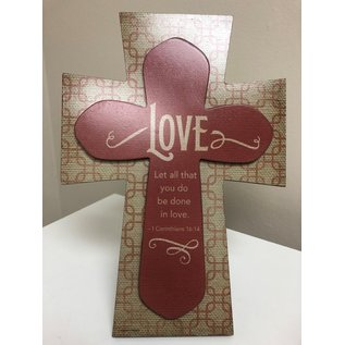 Love Layered Cross