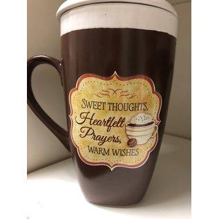 Thoughts, Prayers, Wishes Latte Mug