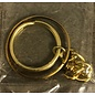 Key Ring, Gold (Deluxe)