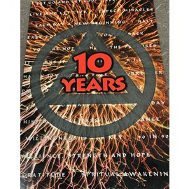 10 Year AA Greeting Card