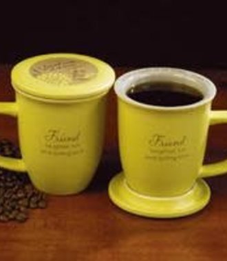 Friend Mug and Coaster