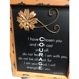 Courage Word Plaque