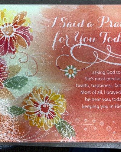 I Said a Prayer Cutting Board Mini