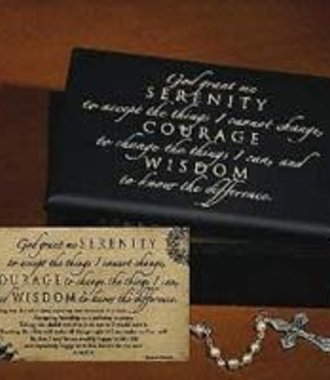 Serenity Prayer Box & Card