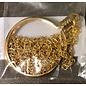 Medallion Holder Necklace Gold