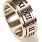 Roman Numeral Spinner Ring, Size 9
