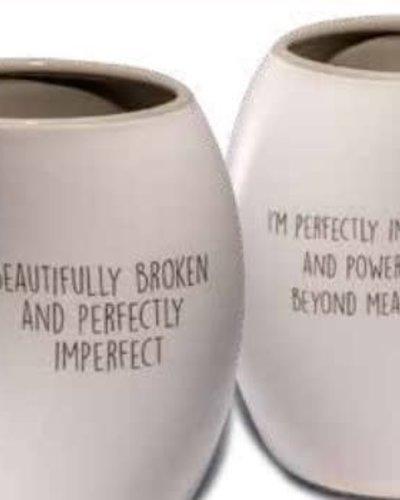 Beautifully Broken Mug